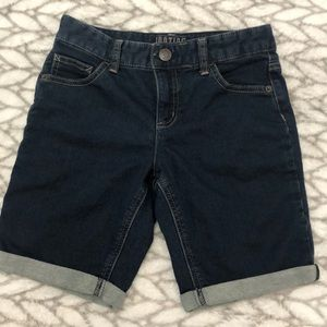 "Long Jean shorts by ""justice"""